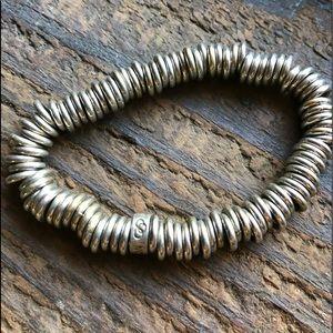 "Vintage London links large ( 10""stretch ) Bracelet"
